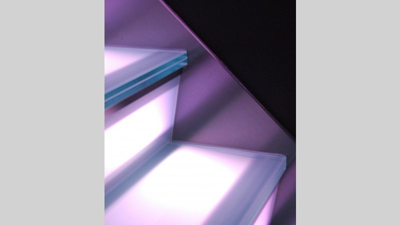 Inox Trap met ingewerkte LED-verlichting