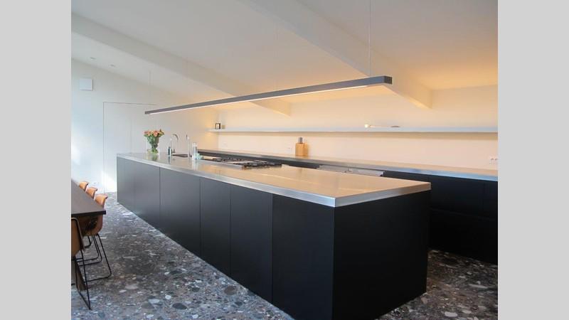 Spatwand Keuken Inox : Inox & keuken